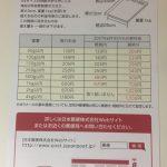 【2017年6月改定】定型外郵便物の新料金について
