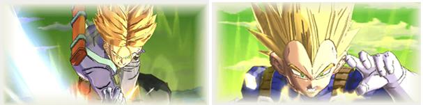 [SPARKING] 超サイヤ人ベジータと[SPARKING] 超サイヤ人トランクス